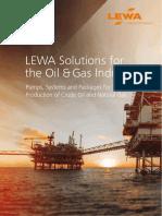 D6 400 LEWA Oil Gas Industry En