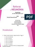 Print Pneumonia
