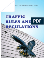 ADMU Traffic Rules & Regulations 2014 Primer