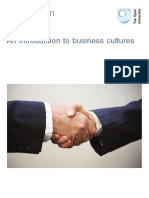 An Introduction to Business Cultures OU