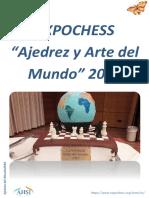 """EXPOCHESS  """"Ajedrez y Arte del  Mundo"""" 2018"""
