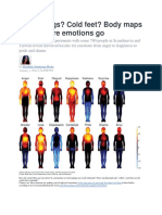Body Maps of Emotions