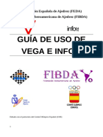 GUÍA DE USO DE  VEGA E INFO64