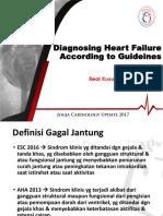 Diagnosing Heart Failure