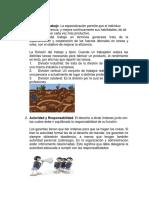 14 Principios de La Administracion de Fayol..División Del Trabajo