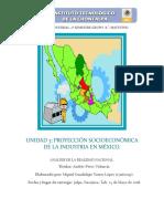 Unidad 3. Proyeccion Socioeconomica de La Ind en Mexico