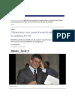 Augusto Nunes - O Fazendeiro Do Ar