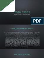 Teoria crítica - INDUSTRIA CULTURAL.pptx