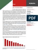 Nomura USD QE-2 Effect 2010-09-23