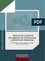 Aplicación Práctica Del Régimen de Infracciones y Sanciones Tributarias