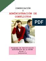 Manejo de Conflictos -Instructivo