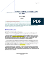 Pa. actionable intelligence briefing 100 18 June 2010 (includes TMI, Peach Bottom)