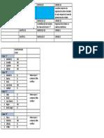 Cronograma de Actividades Unidad 2