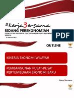 3 Tahun Perekonomian Jokowi JK Oleh Kemenko Ekonomi