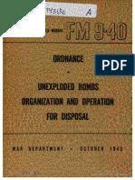 FM9-40 UXO Ops 1943