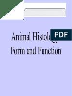 Animal Histology