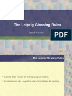 The Leipzig Glossing Rules