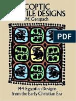 M. Gerspach Coptic Textile Designs