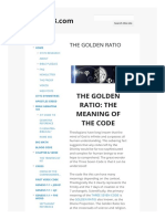 The Golden Ratio 37x73.Com