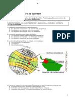 Test Geografía de Colombia