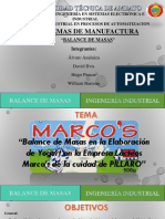 Presentacion manufactura