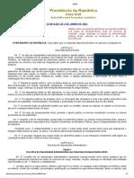 Lei 8429 - 1992 - Atualizada