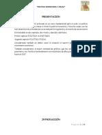 Politica Fiscal y Monetaria en Peru(1)