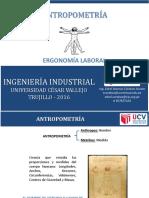 3. Antropometría y Diseño de Puesto de Trabajo