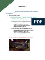 Informe de Maquinas Donde Se Puede Instalar Modulo de Billetero Sala Chincha 3