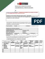 Ficha de Inscripción de La Practica Docente