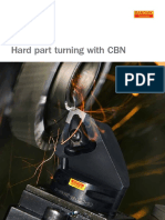 Hard Part Turning With CBN