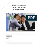 32 Perguntas Aos Bolsonaros