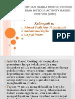 ABC Costing (Kel.11)