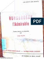 Ruysbroeck, l'admirable