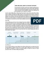 2 February - Onshore vs Offshore Drilling