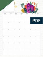 September Wall Calendar