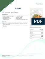 Almond Ricotta Salad Sandwich Regular