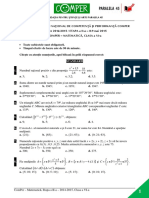 Subiect Si Barem Matematica EtapaII ClasaVI 14-15