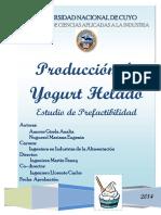Produccion de Yogurt Helado Final