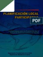 Planificacion Local Participativa Metodologias Para La Promocion de La Salud en America Latina y El Caribe(Autosaved)