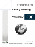 Antibody Screening Technotes