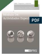 Material de Formacion Actividades Especiales Seccion 34