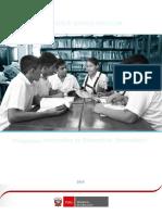 Programa Curricular Educacion Secundaria OCR