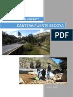 Informe - Cantera Bedoya