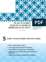Evidence Based Policy Making Indonesia