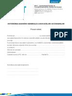 Hotararea Adunarii Generale FE (1)