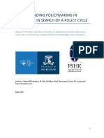 Understanding Policy Making in Indonesia