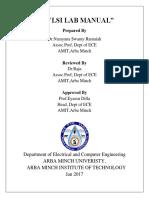 RNS VLSI Lab Manual