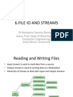 java files io and streams