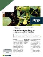 Acosta Muñoz - 2005 - La Técnica Del Injerto en Plantas Hortícolas